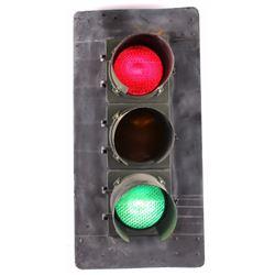 Montana Marblelite Traffic Signal Light 1930-1940