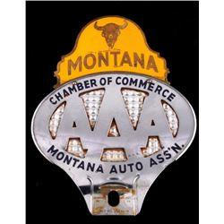 Montana AAA License Plate Topper