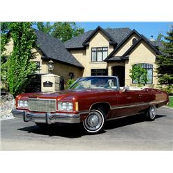 NO RESERVE! 1974 CHEVROLET CAPRICE CONVERTIBLE ONE OWNER LOW ACTUAL MILES