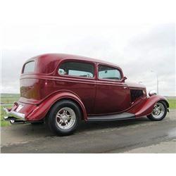 "4:00 PM SATURDAY FEATURE! 1934 FORD V8 STANDARD ""TUDOR"" SEDAN - STUNNING!"