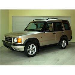 """2000 LAND ROVER """"LUXURY"""" DISCOVERY LOW RESERVE"""