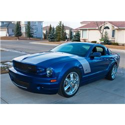 2007 Foose Stallion Sport GT Coupe in Vista Blue with Black Leather Interior