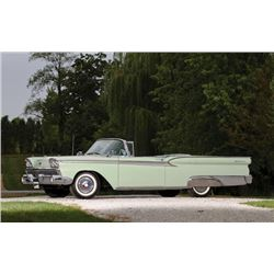 1959 FORD SKYLINER RETRACTABLE HARD TOP 36500 actual miles