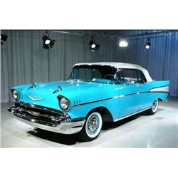 1957 CHEVROLET BEL AIR CONVERTIBLE: FRAME-OFF RESTORATION