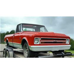 1967 CHEVROLET C20 PICK-UP