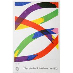 Piero D'Orazio, Olympische Spiele Munchen 1972, Lithograph