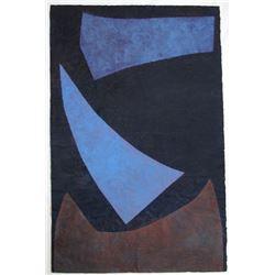Yasmin Brandolini d'Adda, B, Tempera Painting