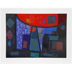 Remo Farruggio, Awakening, Lithograph