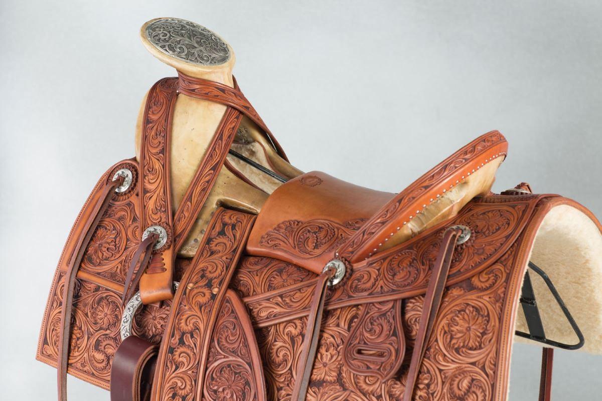 Clint Mortenson Custom Mexican Mountain Saddle