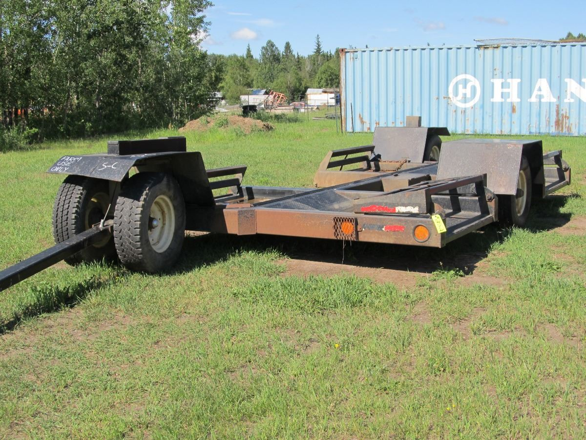 SICKLE PULL SWATHER TRANSPORT