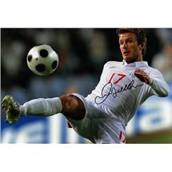 DAVID BECKHAM SIGNED PHOTO.