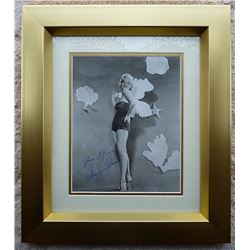 MARILYN MONROE ORIGINAL SIGNED PHOTO FRAMED