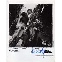 KURT COBAIN SIGNED PROMO PHOTO