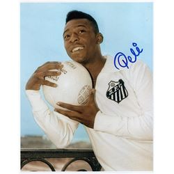 PELE SIGNED PHOTO.