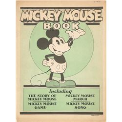 Rare First Edition Mickey Mouse Book.