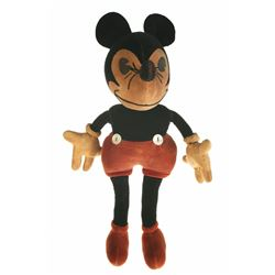 Original Charlotte Clark Mickey Mouse Doll.