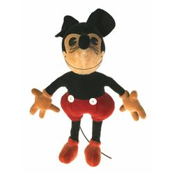 WALT DISNEY SIGNED MICKEY MOUSE DOLL