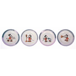 Pearl Blue 15-piece Imported Child's China Set.