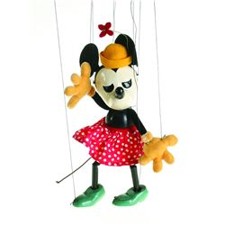 Minnie Mouse Marionette.
