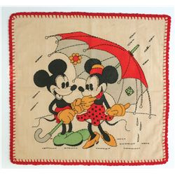 Vogue Needlecraft Mickey and Minnie Design.