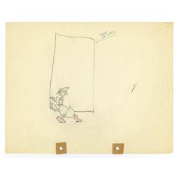 "Original Production Drawing from ""Mother Goose Melodies""."