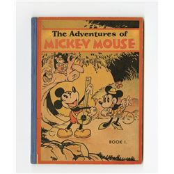"Collection of (3) Versions of ""The Adventures of Mickey Mouse Book 1""."