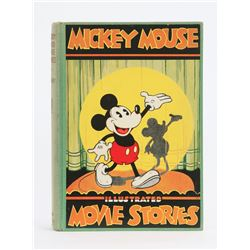 """Mickey Mouse Illustrated Movie Stories"" Hardcover."