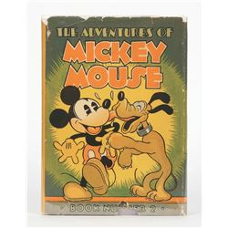 """The Adventures of Mickey Mouse Book Number 2"" Hardcover."