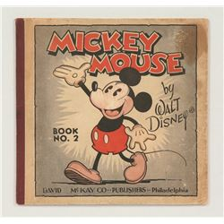 """Mickey Mouse"" Series No. 2, No. 3 , and No. 4, Softcovers."