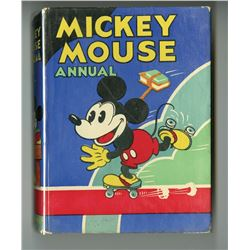 "Mickey Mouse Annual, ""Who's Leg Pulling?""."