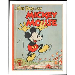 "First Edition of ""The Pop-up Mickey Mouse"" Book."