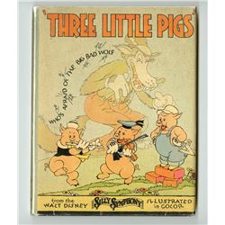 "First Edition ""The Three Little Pigs"" Book."