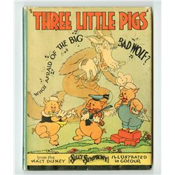 "Collection of (3) Overseas Printings of ""The Three Little Pigs""."