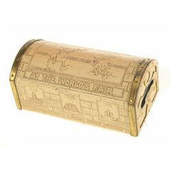 World's Fair Tin Mickey Coin Bank.