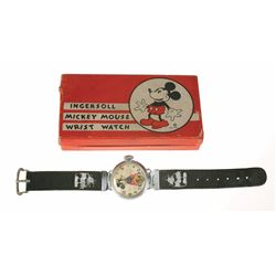 First Ingersoll Mickey Mouse Watch.