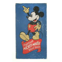 Ingersoll 1936 Mickey Mouse Wristwatch in Box.