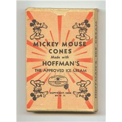 Mickey Mouse Card Game.