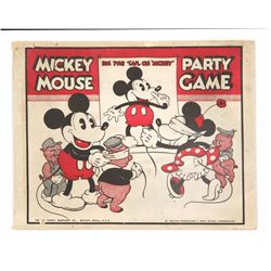 """Pin the Tail On Mickey"" Game."