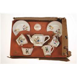 Mickey Mouse Nursery Ware China Tea Set.