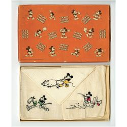 Mickey Mouse Hankies.
