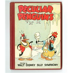 "First Edition ""Peculiar Penguins""."