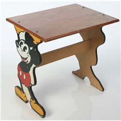 Mickey Mouse and Minnie Mouse Desk.