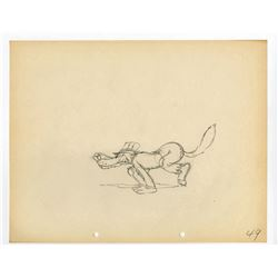 "Original Production Drawing from ""The Big Bad Wolf""."