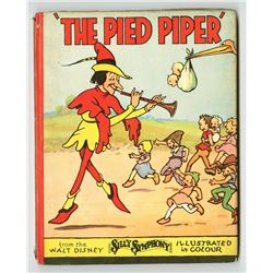 """The Pied Piper"" Hardcover Book."