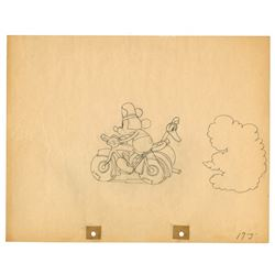 "Original Production Drawing from ""The Dognapper""."