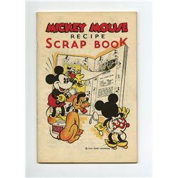 Collection of (5) Mickey Mouse Recipe Books.