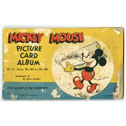 Mickey Mouse Picture Card Album. Vol. 2