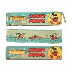 Collection of (3) Rolls of Mickey Mouse Movie-Jecktor Film.