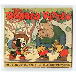 """The Robber Kitten"" Hardcover Book."