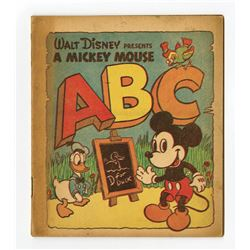 """A Mickey Mouse ABC Book""."